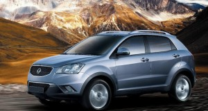 SsangYong Actyon русифицировали