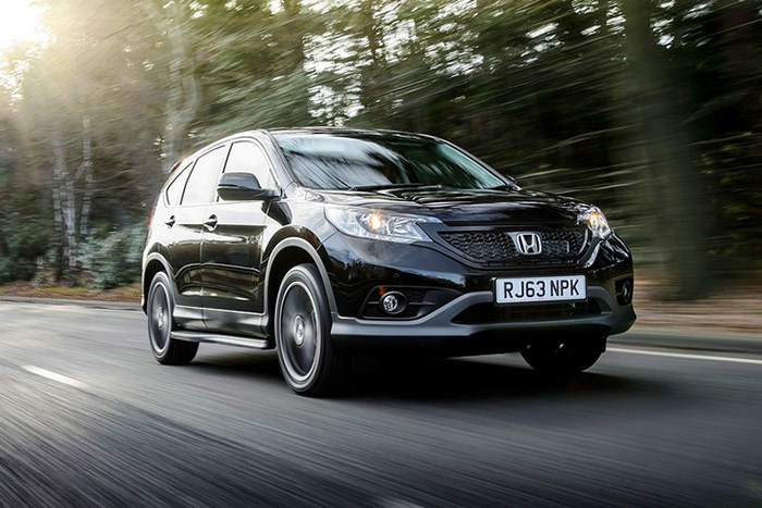 Honda CR-V Black & White