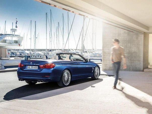 MBW Alpina 4-Series BiTurbo Convertible