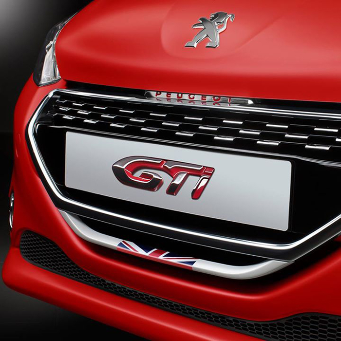 Peugeot 208 GTi 30th Anniversary Edition teaser