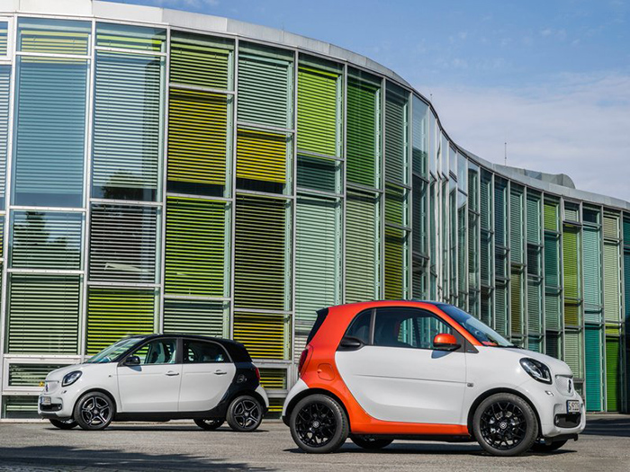 Smart forfour & Smart foutwo